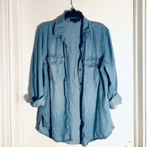 Sanctuary Boyfriend for Life Chambray Shirt